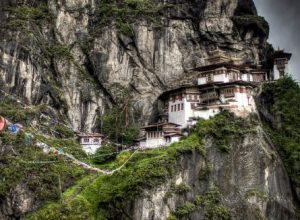 Tiger nest Monastary in Paro
