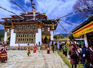 ura yakchoe festival in Bumthang