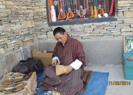 Bhutan arts and crafts