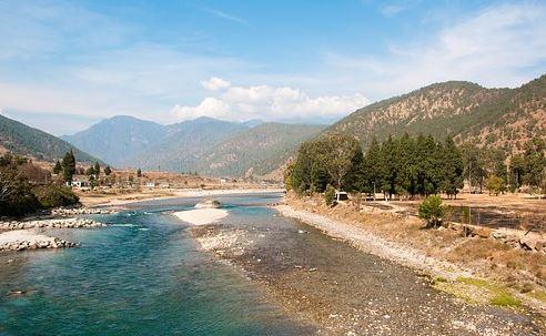 Pleasant climatic condition in Bhutan