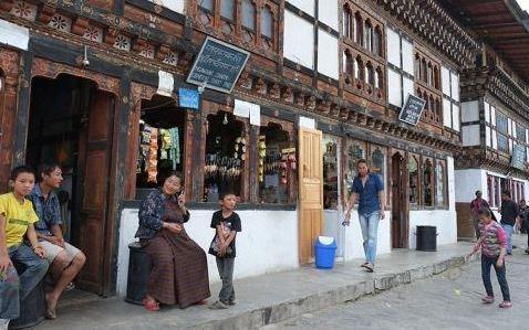 Shopping facilities in Bhutan