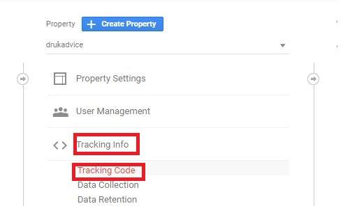 where to put google analytics code
