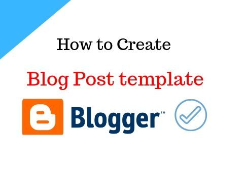 Blog Post template