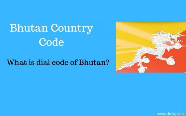Bhutan Country Code