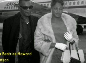 Della Beatrice Howard Robinson with Ray Charles