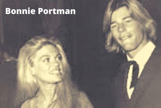 A cute photo Bonnie Portman with her late husband Jan Michael Vincent