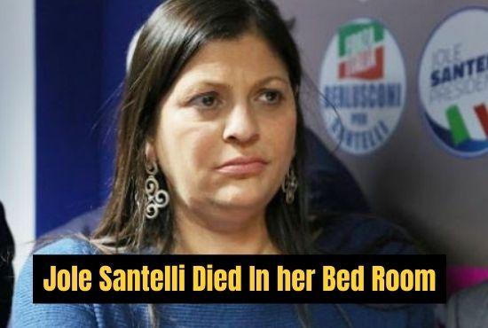 Jole Santelli died