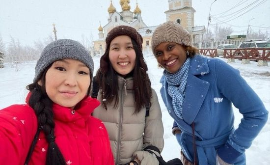 Pictures of Life in Yakutia Maria interview with Kristine Bolt from Jamaica
