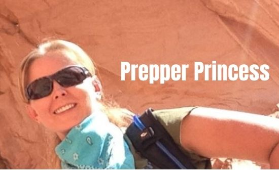 Prepper Princess traveling with her daughter in mountainous trails